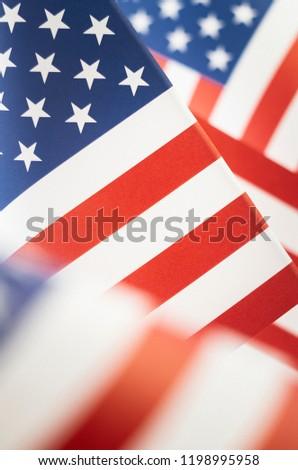 e13a4292cfba Stars Stripes American Flag Closeup Stock Photo (Edit Now ...