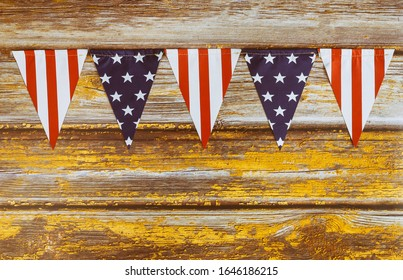 Stars and stripes spangled banner USA American Flag the us independence day, July 4, memorial day, patriotism