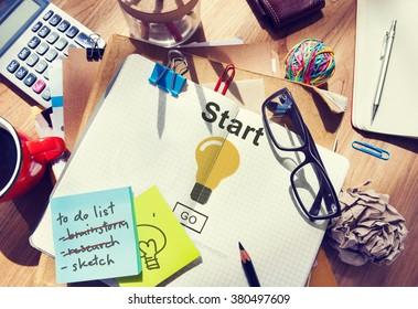 Start Begin Activation Begin First Build Forward Concept