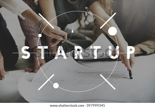Start Up Business Growth Launch Aspiration Concept