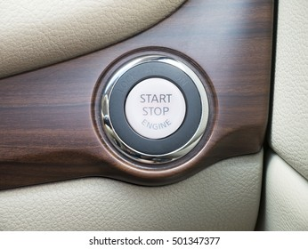 Start engine button, technology provide convenience for driver.