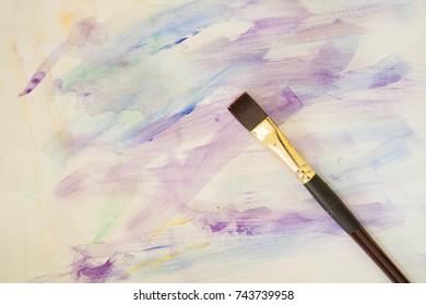 Start painting oil
