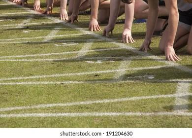 Start of Running Race