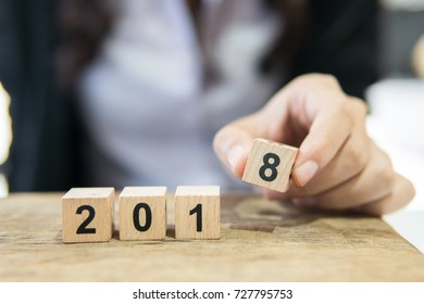 start success business new year 2018,beginning business successful,Happy new year celebration,2018 number decoration,serve successful business working.