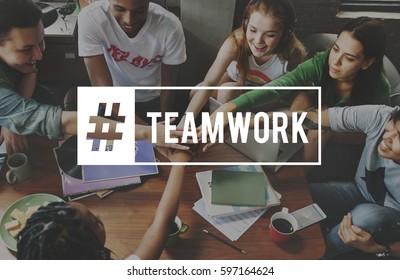 Start up Team Building People Teamwork