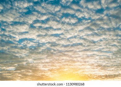 Start your good day with morning sky and amazing clouds.