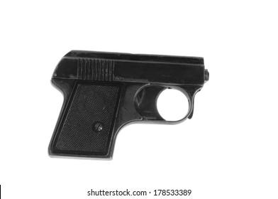starting pistol for starting races, shoots blanks