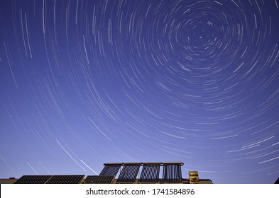 Startrails above my living place