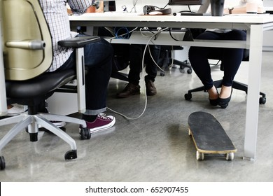 Startup Business People Working in Office