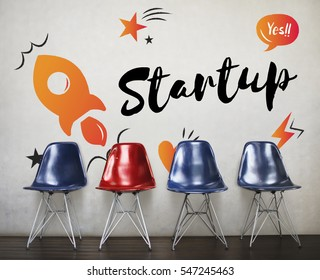 Startup Business Progress Strategy Enterprise