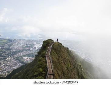 Starway to heaven in Oahu - ladders to heaven