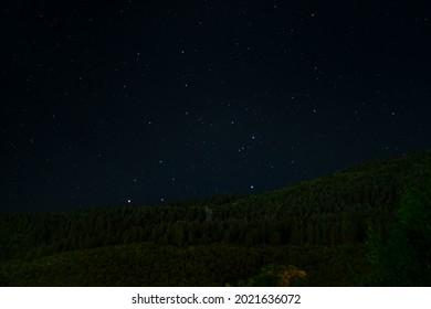 Stary Night over Igman, Sarajevo, Bosnia and Herzegovina. - Shutterstock ID 2021636072