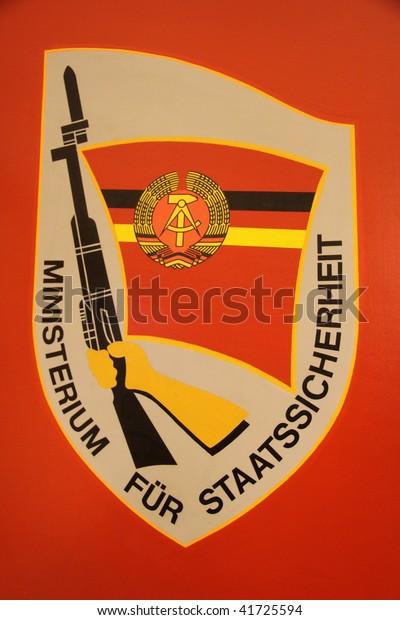 Stasi Sign (Sicherheitspolizei in der DDR)