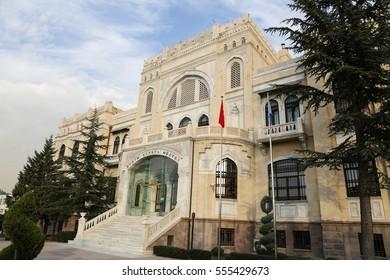 State Art and Sculpture Museum in Ankara, Turkey