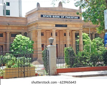 State Bank Of Pakistan - Beautiful Building in Karachi Pakistan 12/04/2009