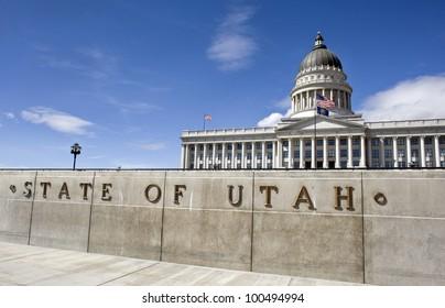 State Capital in Salt Lake City,  Utah.
