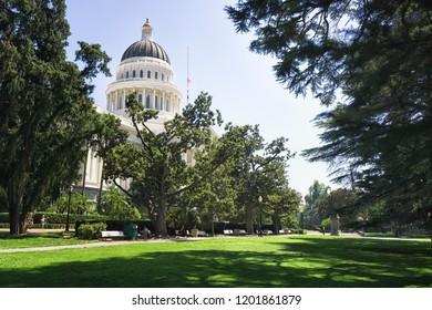 State Capitol of California, Sacramento.