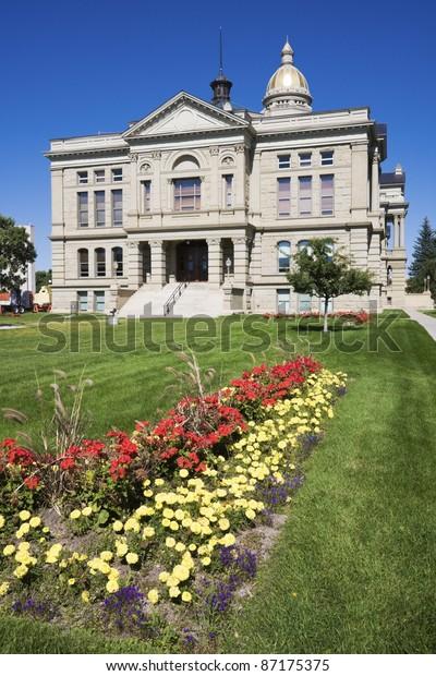 State Capitol Cheyenne Wyoming Stock Photo (Edit Now) 87175375