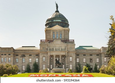 State capitol complex in Helena, capital of Montana state