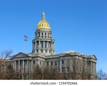 State Capitol in Denver, Colorado, USA