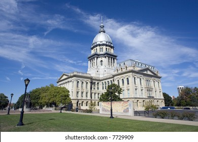State Capitol of Illinois in Springfield