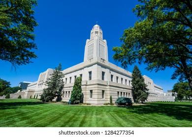 State Capitol, Lincoln, Nebraska, USA