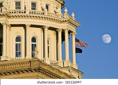 State Capitol of Michigan in Lansing.