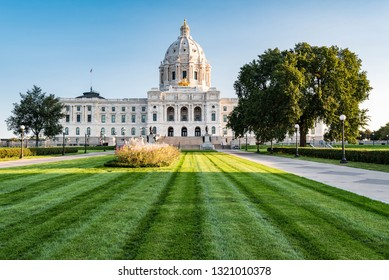 State Capitol of Minnesota at Sunrise