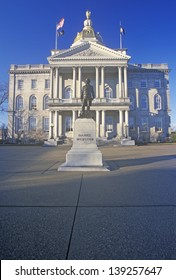 State Capitol of New Hampshire in Concord, NH