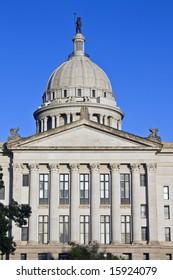 State Capitol of Oklahoma in Oklahoma City.