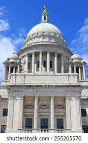 State capitol in Providence, Rhode Island. City in New England region of the US.