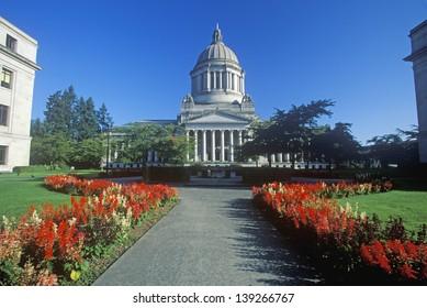 State Capitol of Washington in Olympia, WA