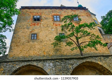 State castle Buchlov. Buchlov castle. Region South Moravia, Czech Republic