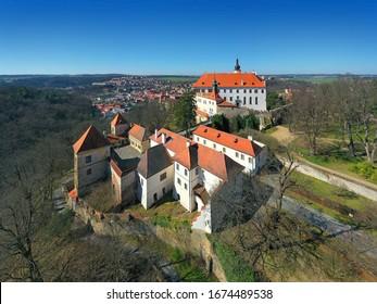 The State castle Namest nad Oslavou, Czech Republic - Shutterstock ID 1674489538