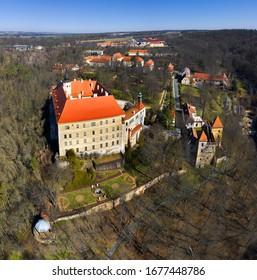 The State castle Namest nad Oslavou, Czech Republic - Shutterstock ID 1677448786