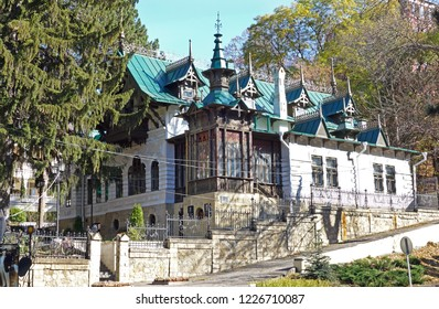 The State Historical and Cultural Museum of Shalyapin Dacha. Fedor Ivanovich Shalyapin Russian opera and chamber singer. Kislovodsk, Russia