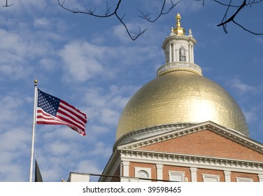State House in Boston, Massachusetts