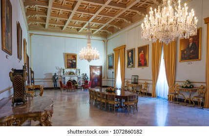 State rooms of Grand Master's Palace. Located in Valletta, Malta. 13 March 2018