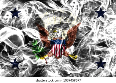 state smoke flag, United States Of America