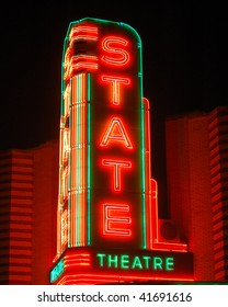 State Theater sign, Ann Arbor, MI