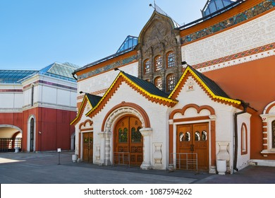 State Tretyakov Gallery in Moscow Russia - art architecture background