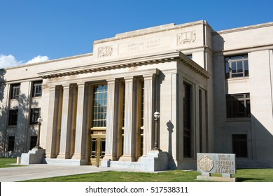 The state of Wyoming Supreme Court building is located in Cheyenne, WY, USA. The Supreme Court building is a state owned public building and does not require a property release.