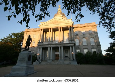 The Statehouse in Concord NH