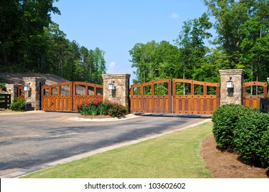 Residential Gate Images Stock Photos Amp Vectors Shutterstock