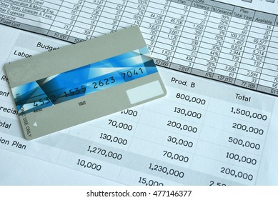 Statement account and Credit card for Business financial and loan