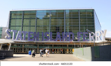 Staten Island Ferry Terminal Building