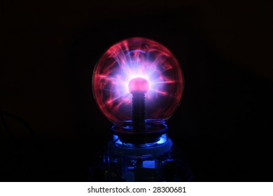 Static Electricity Crystal Ball