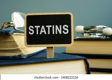 Statins concept. Pills, glasses and stethoscope.