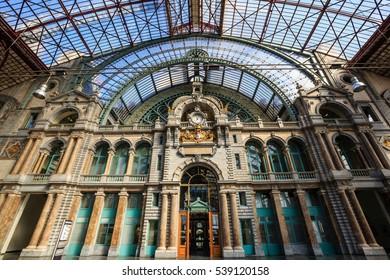 Station Antwerpen-Centraal - Antwerp, Belgium