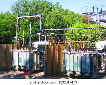 station of electric tranformers